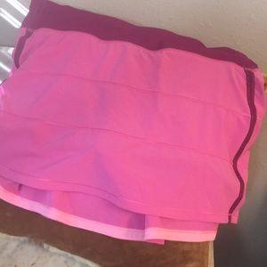 New Lululemon Athletica Skort Sport Skirt Plum 10!